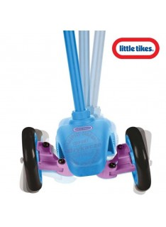 Kolobežka trojkolesová Little Tikes modro-ružová