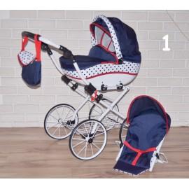 Kočík pre bábiky Nina 2v1