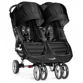 Baby Jogger City Mini double BLACK/GRAY