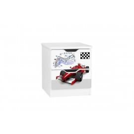 Amila nočný stolík Formula F1