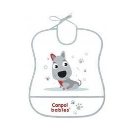 Mäkký plastový podbradník Canpol Babies 2/919 psík