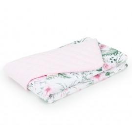 Mamo Tato Deka Velvet Pik Ružový sad/ružová 75x100 cm